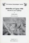 Butterflies of Cyprus 1998 (Records of a year's sightings)