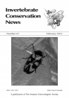 Invertebrate Conservation News back issues